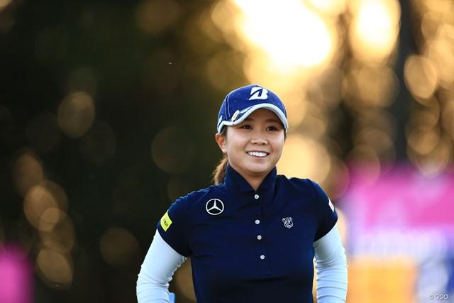 女子プロ 女子プロゴルフ ゴルフ 金沢志奈 ヤマハレディース 葛城 静岡 ゴルフ好き スワロフスキー ゴルフマーカー ジュエリー