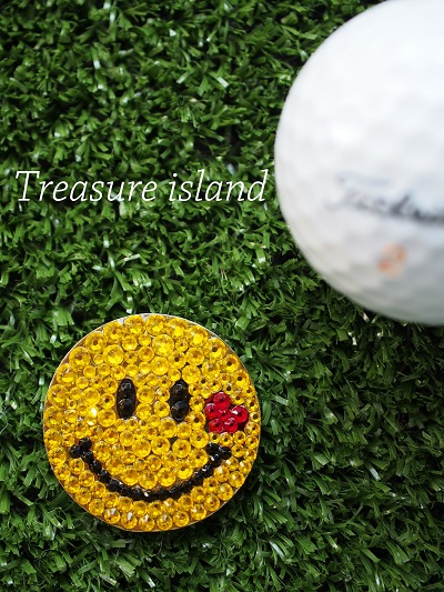 スワロフスキー ゴルフマーカー ゴルフ ゴルフ場 ゴルフサークル ゴルフスクール ゴルフコンペ ホールインワン 景品